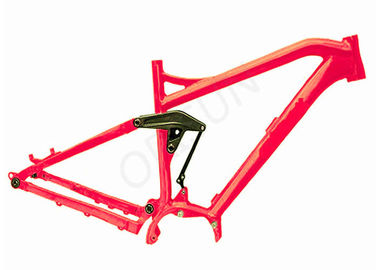 Cina Suspensi Full Suspension Electric Mtb Frame, Sepeda Frester 29an Mtb Mid - Drive Motor Distributor