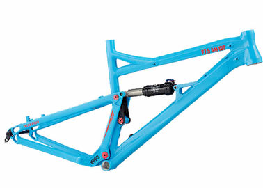 Cina Aluminium AM / Enduro Full Suspension Bike Frame, 160mm Frame Sepeda Gunung Travel Distributor